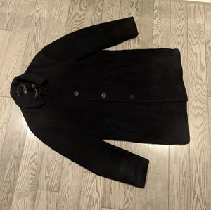 Man  black coat by Bellissimo